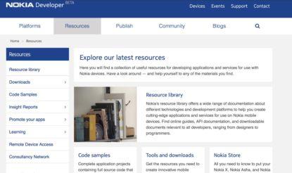 Nokia resources