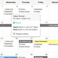 Calendar Demo